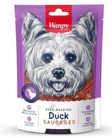 Wanpy Dog Лакомство утиные сосиски, 100 г