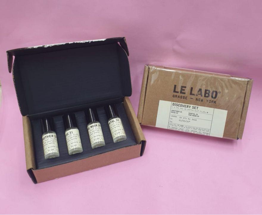 Подарочный  набор Le Labo Grasse - New York 4х5мл