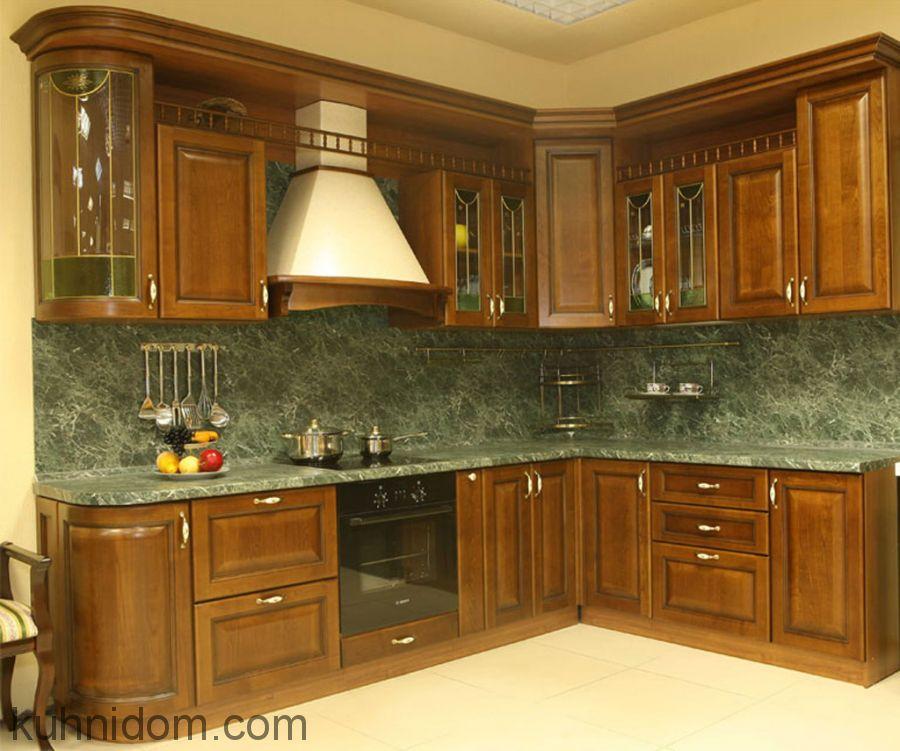 Кухня Вивальди с балюстрадой