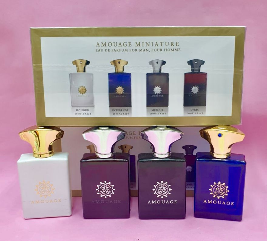 Подарочный набор Amouage Miniature Por Homme 3х30мл
