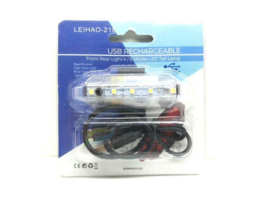 Универсальный светодиодный фонарь Leihao-218 (Прозрачный)