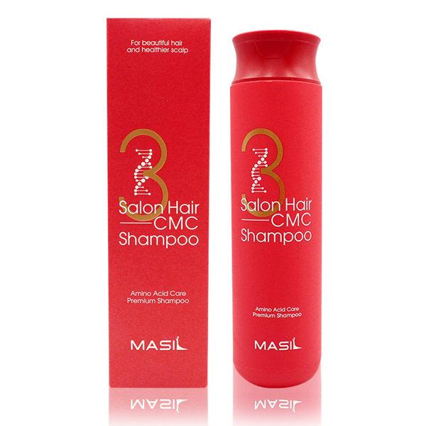 Восстанавливающий профессиональный шампунь с керамидами Masil 3 Salon Hair CMC Shampoo 300 мл