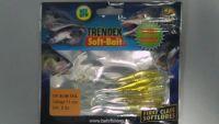 Силиконовая приманка Behr Trendex UV Slim-Tail 11 см 5 шт 6026111