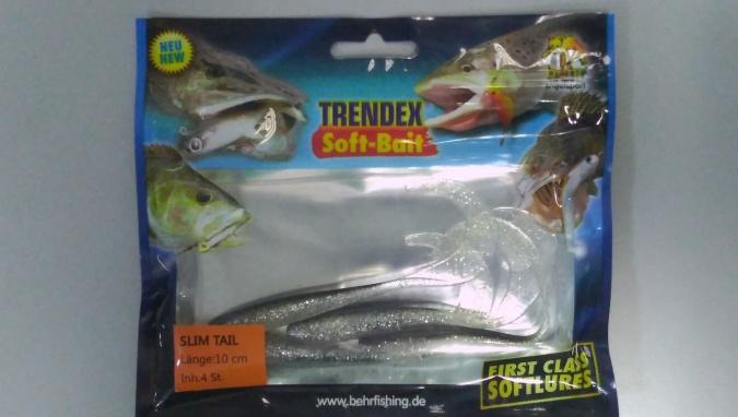 Силиконовая приманка Behr Trendex Slit Bait 10 см 4 шт 6017010