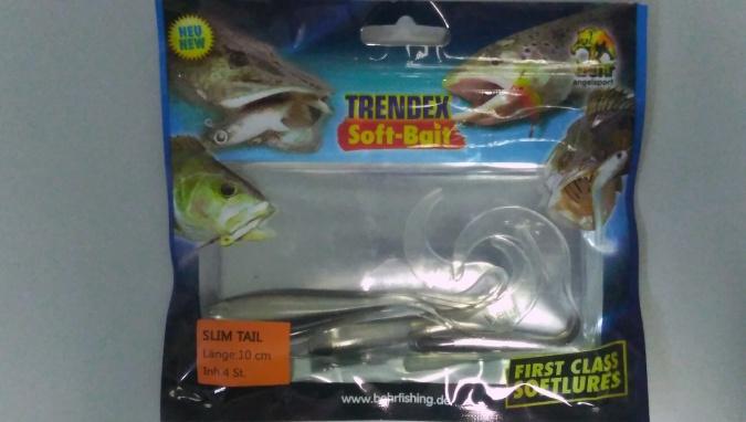 Силиконовая приманка Behr Trendex Slit Bait 10 см 4 шт 6017310
