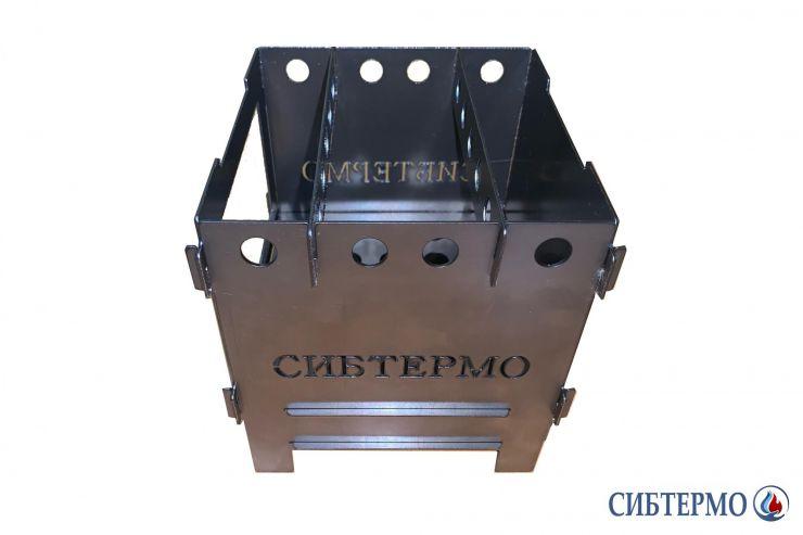 Печь Сибтермо щепочница сталь 1мм