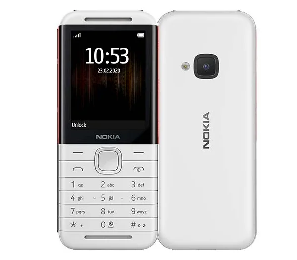 Телефон Nokia 5310 (2020) Dual Sim WHITE/RED