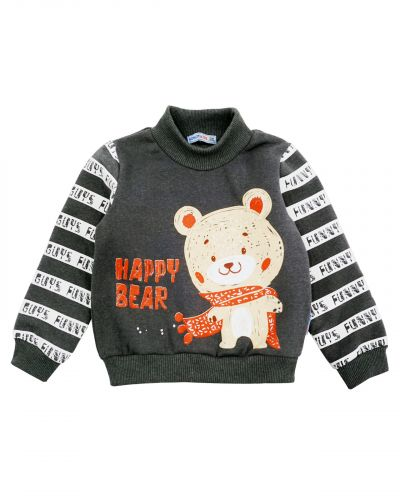 "Свитшот для мальчика Bonito kids ""Happy Bear"""