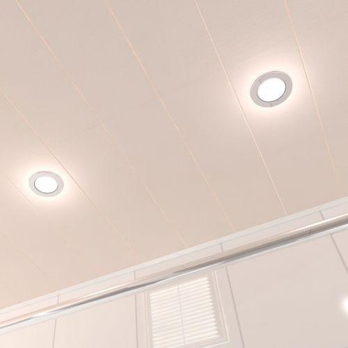 Потолок реечный Cesal C07 Бежевый жемчуг