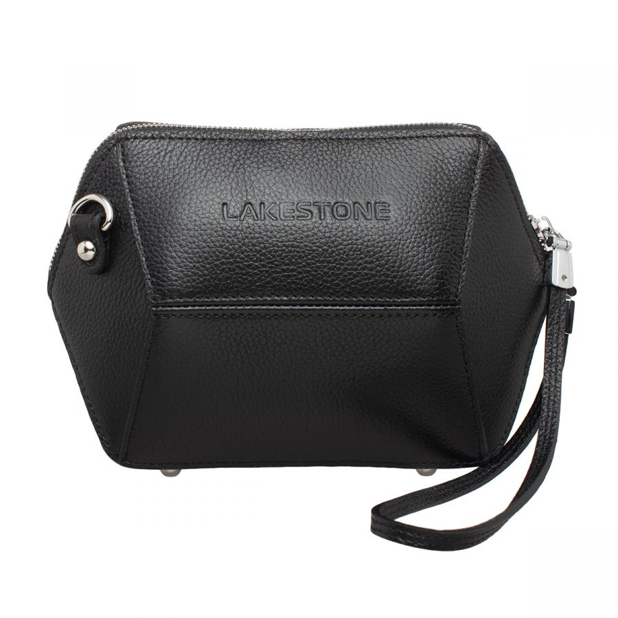 Женская кожаная сумка Lakestone Manilla Black