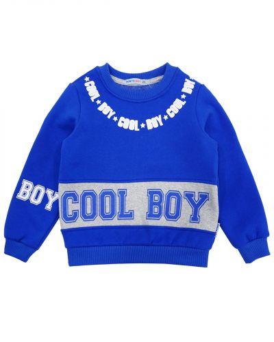 "Свитшот для мальчика 5-8 лет Bonito kids ""Cool Boy"""