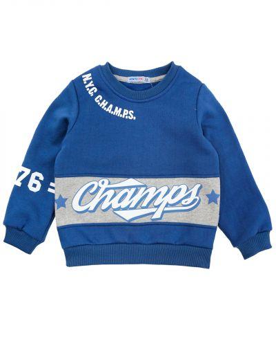 "Свитшот для мальчика 5-8 лет Bonito kids ""Champs"""