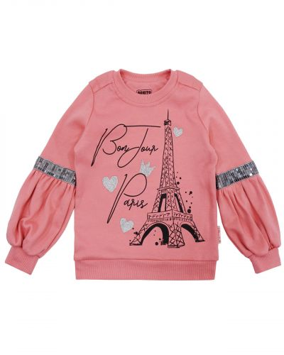 "Свитшот для девочек 3-7 лет Bonito kids ""Paris"""