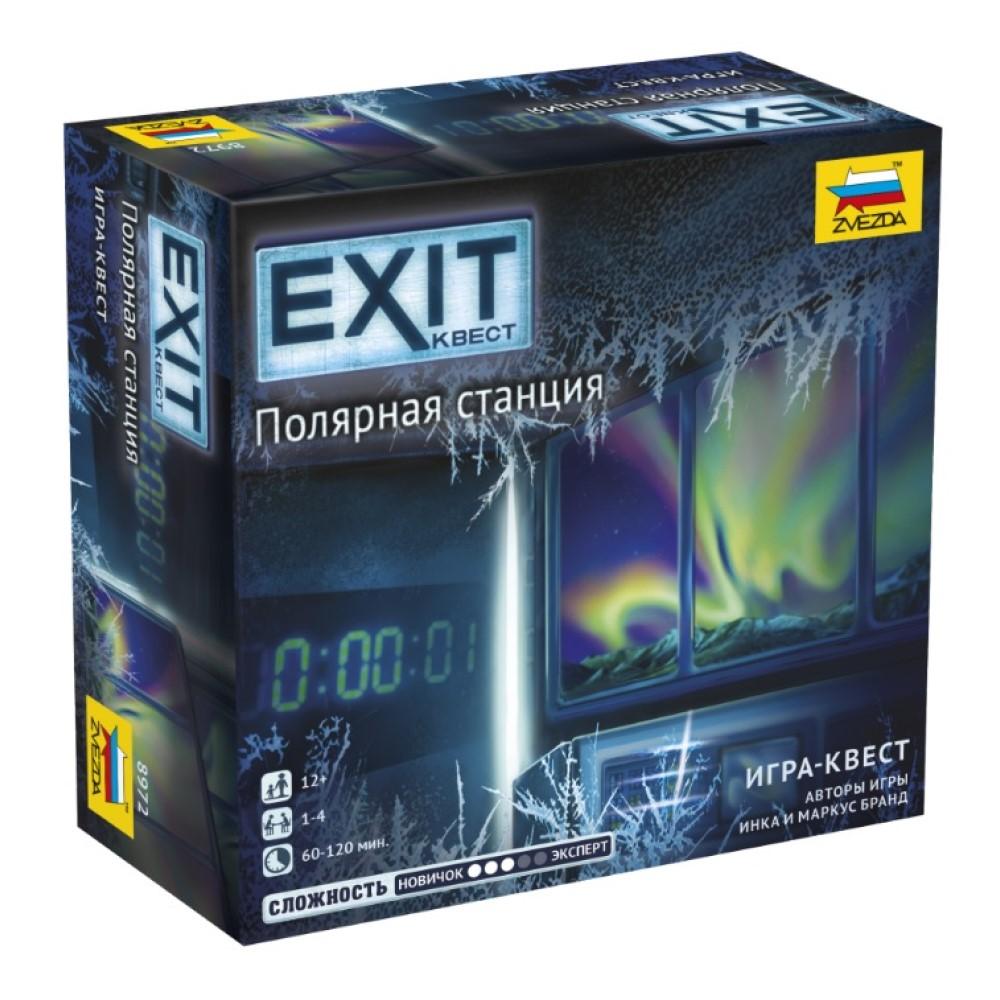 EXIT Квест. Полярная станция (на русском)
