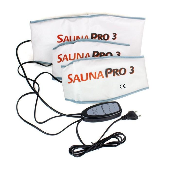 Набор поясов для похудения с термоэффектом Sauna Pro 3 (Сауна Про 3)