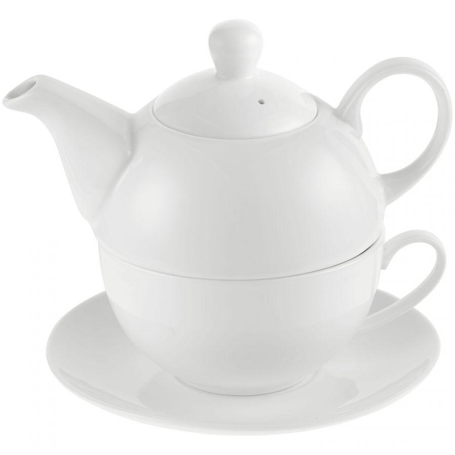 Фарфоровый чайный набор с вашим логотипом