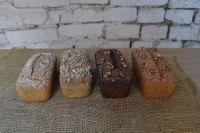 Безглютеновый хлеб из зелёной гречки ,300 грамм