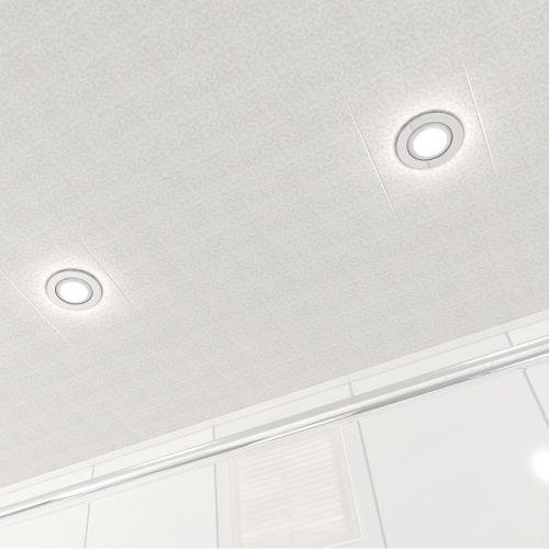 Потолок реечный Cesal B28 Мозаика кремовая