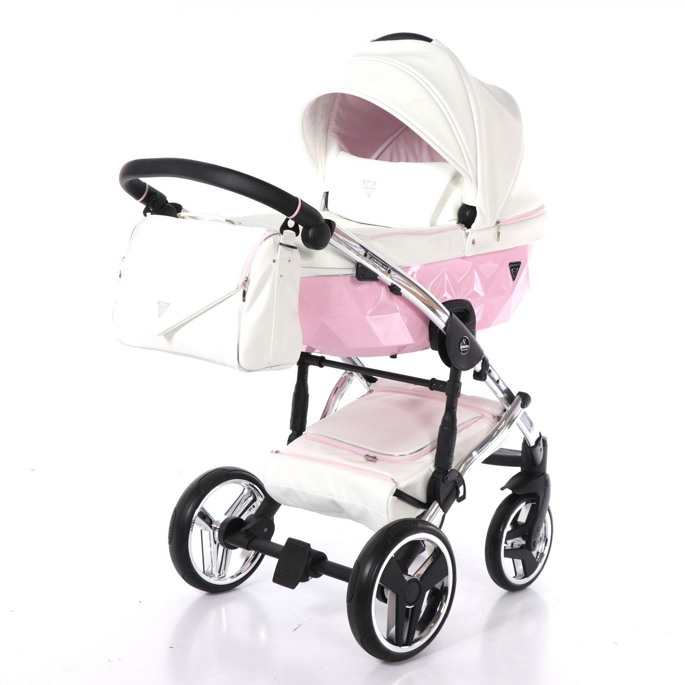 Junama Candy JC-01 - детская коляска 2 в 1 (розовый)