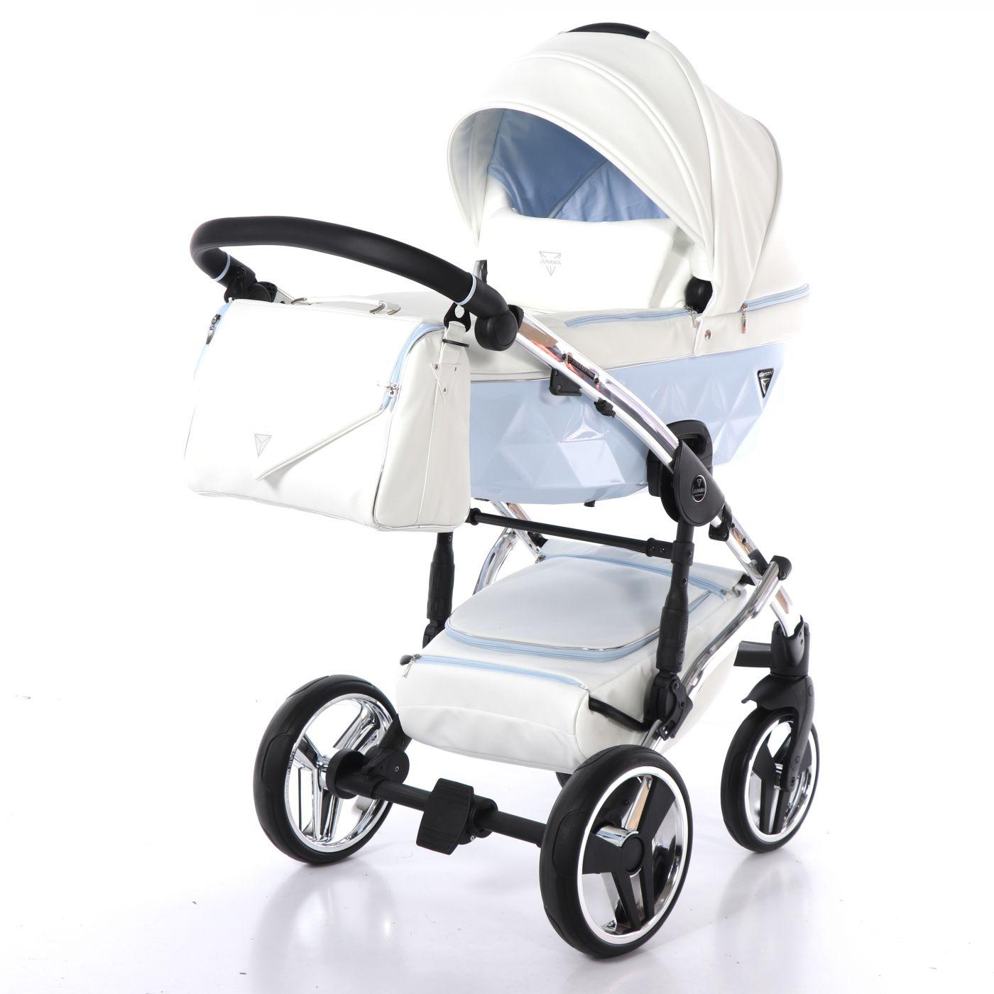 Junama Candy JC-02 - детская коляска 2 в 1 (голубой)