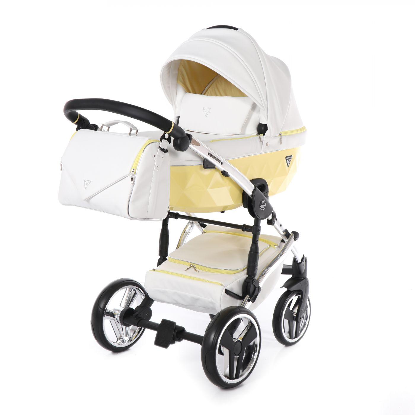Junama Candy JC-03 - детская коляска 2 в 1 (желтый)