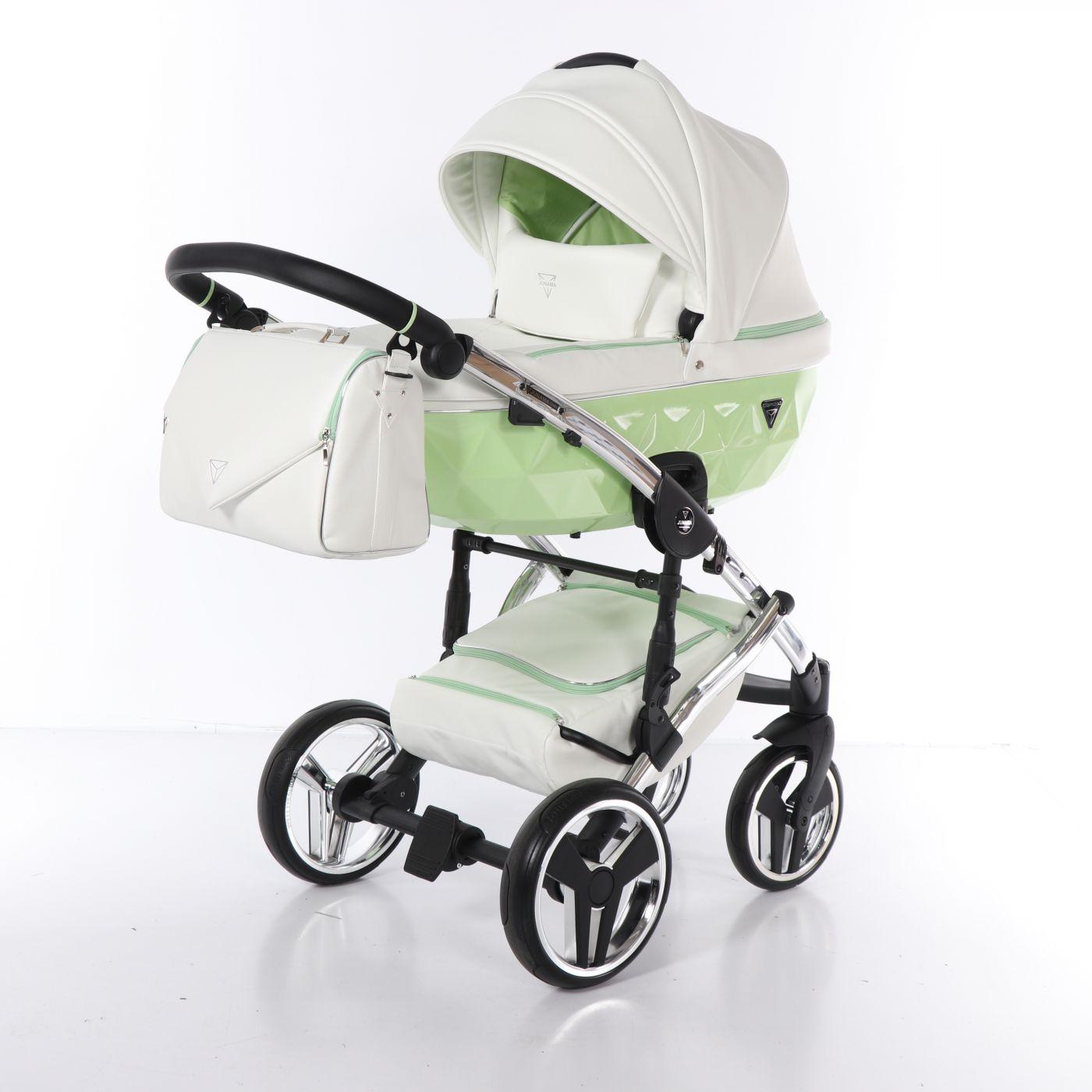 Junama Candy JC-04 - детская коляска 2 в 1 (зеленый)