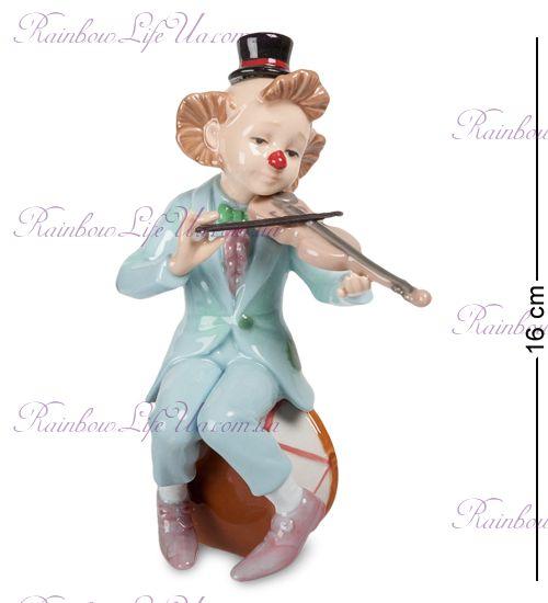 "Фигурка Клоун со скрипкой CMS-23/35 ""Pavone"""