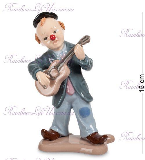 """Фигурка Клоун с гитарой CMS-23/34 """"Pavone"""""""