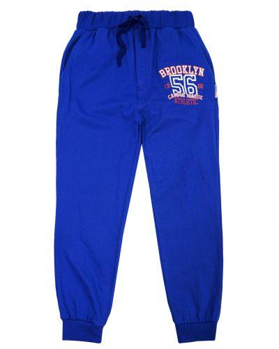 Спортивные джоггеры для мальчика 8-12 лет Bonito kids темно-синие
