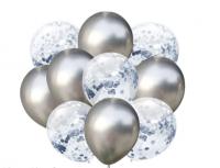 Цветные латексные шары воздушные шары с конфетти 38