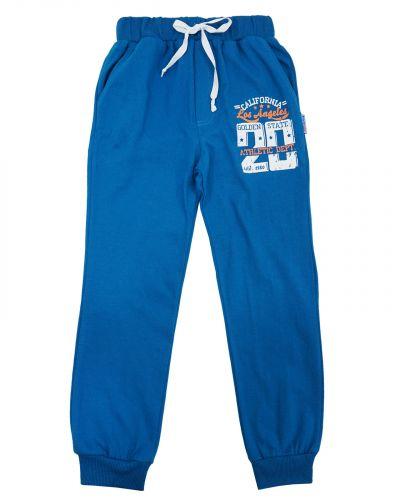 Спортивные джоггеры для мальчика 8-12 лет Bonito kids синие