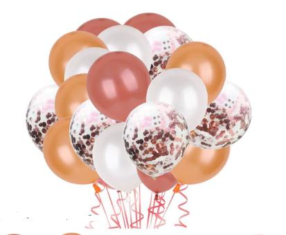 Цветные латексные шары воздушные шары с конфетти 57