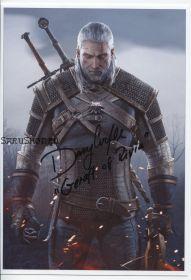 Автограф: Даг Кокл. Ведьмак 3: Дикая Охота