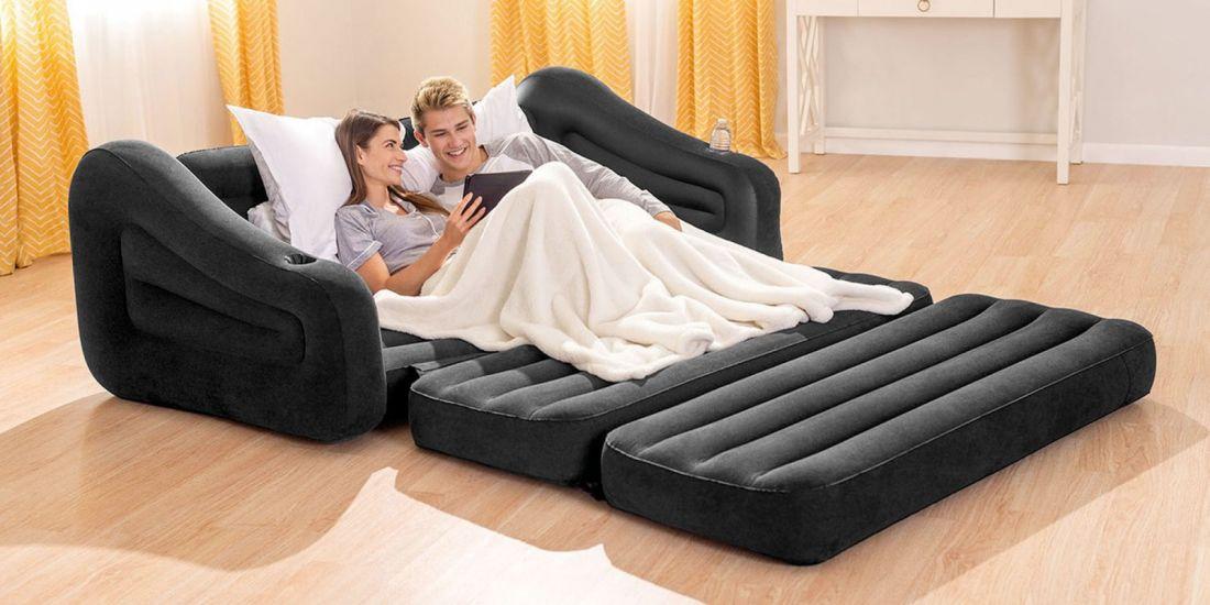 Диван-кровать надувной Intex 68566