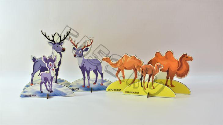 Набор фигурок ДОМАШНИЕ ЖИВОТНЫЕ 10-15 см ИО-305