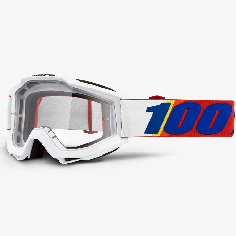 100% Accuri Minima Clear Lens, очки для мотокросса