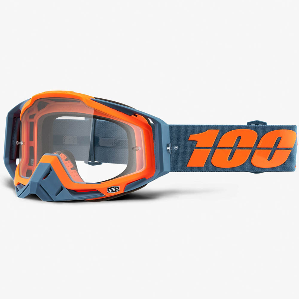 100% Racecraft Kilroy Clear Lens, очки для мотокросса