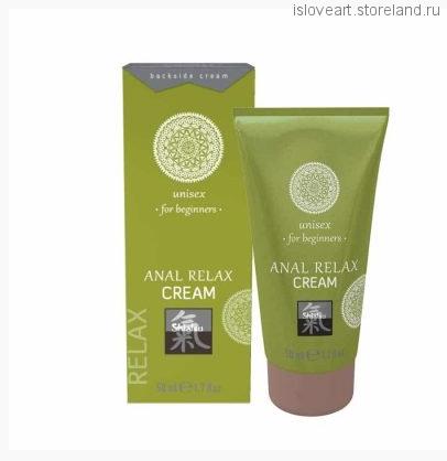 Анальный крем для начинающих Shiatsu Anal Relax Cream, 50 мл.