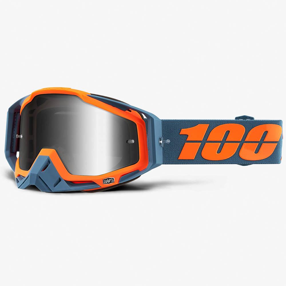 100% Racecraft Kilroy Mirror Silver Lens, очки для мотокросса