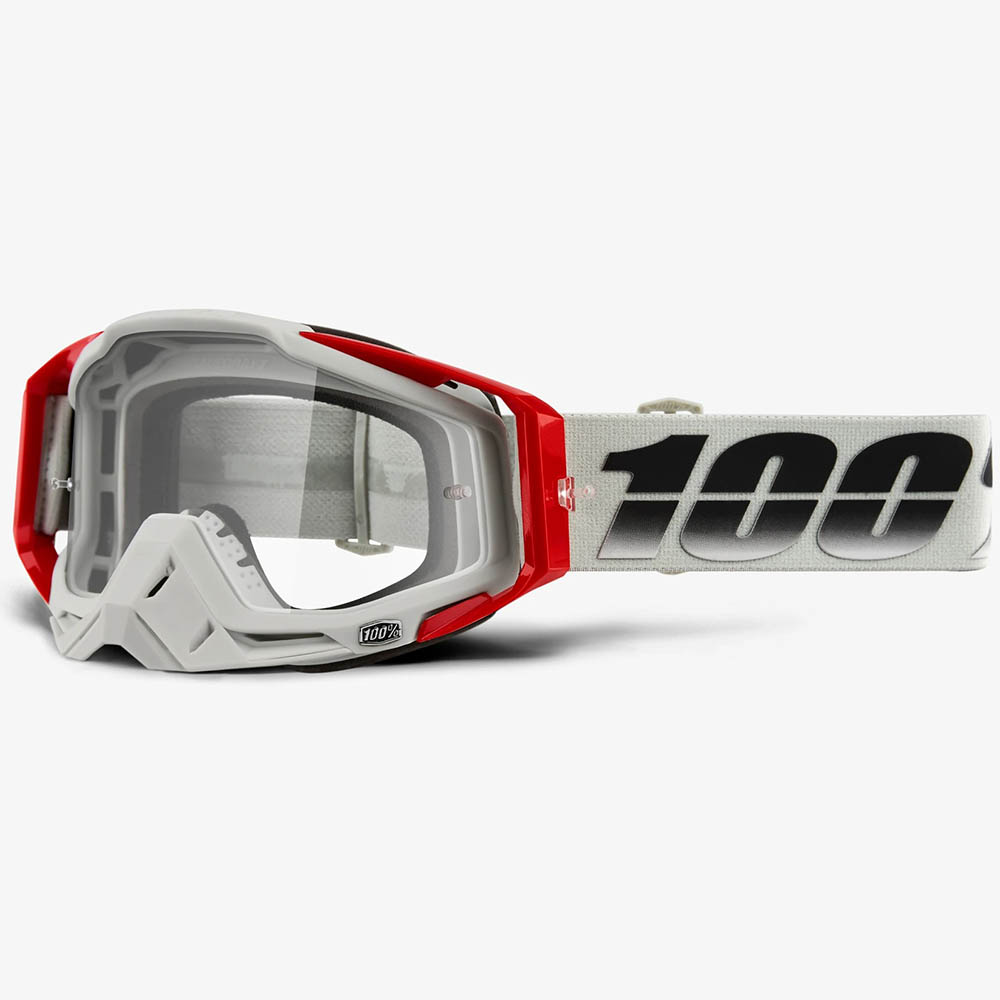 100% Racecraft Suez Clear Lens, очки для мотокросса