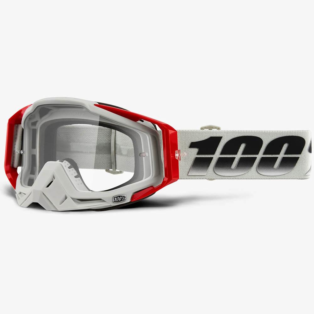100% Racecraft Suez Clear Lens, очки для мотокросса