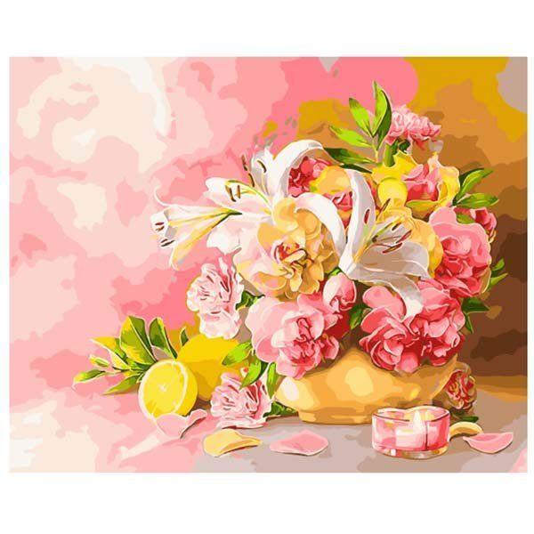 Картина по номерам Счастливый букет 40*50 см GX28783