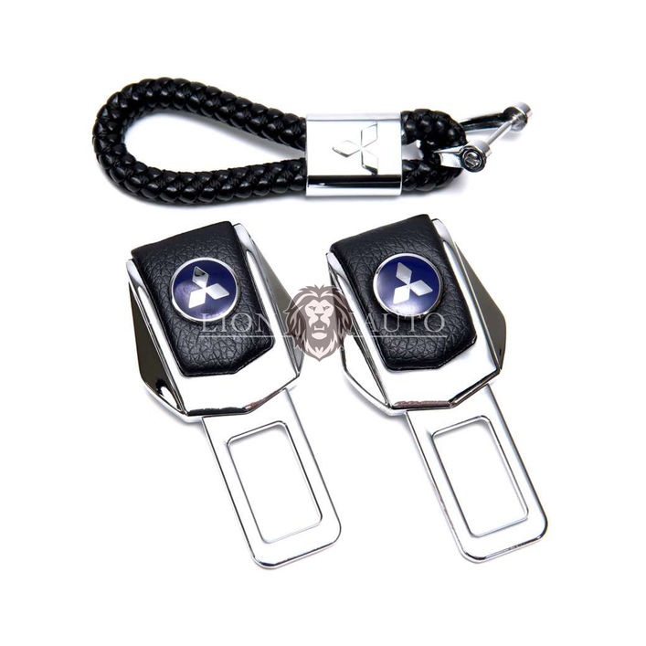 Заглушки ремня безопасности на Mitsubishi (набор)