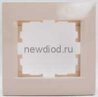 KARINA Рамка 1-ая горизонтальная б/вст крем (20шт/240шт)