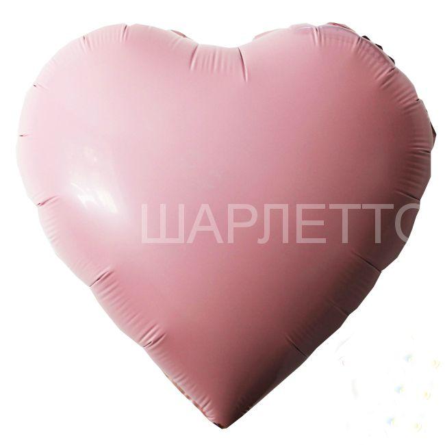 Сердце САТИН ЛОСОСЕВЫЙ