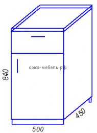 Кухня Тиса H500-1Я