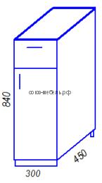 Кухня Тиса H300-1Я