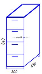 Кухня Тиса H300-4Я