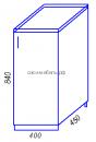 Кухня Тиса H400 Стол разделочный