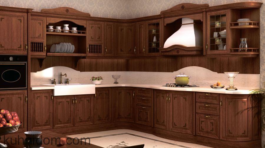 Кухня Магнолия Угловая